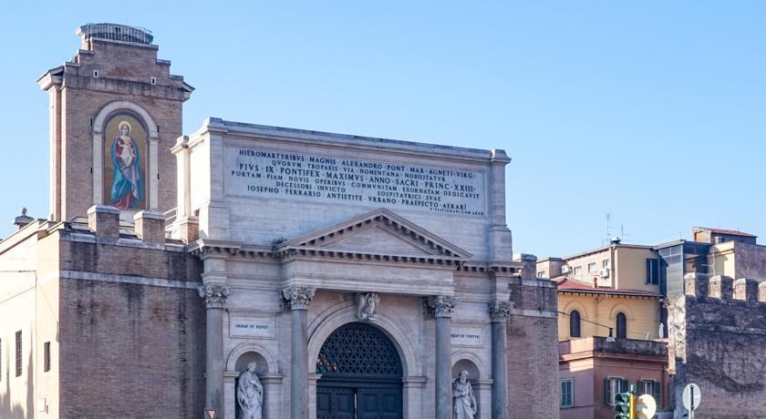 Отель Apogia Lloyd Rome Италия Рим
