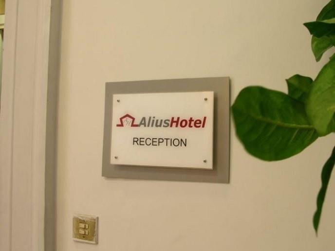 Отель Alius Рим