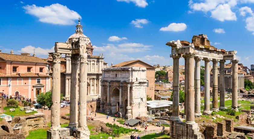 Отель Anfiteatro Flavio Италия Рим