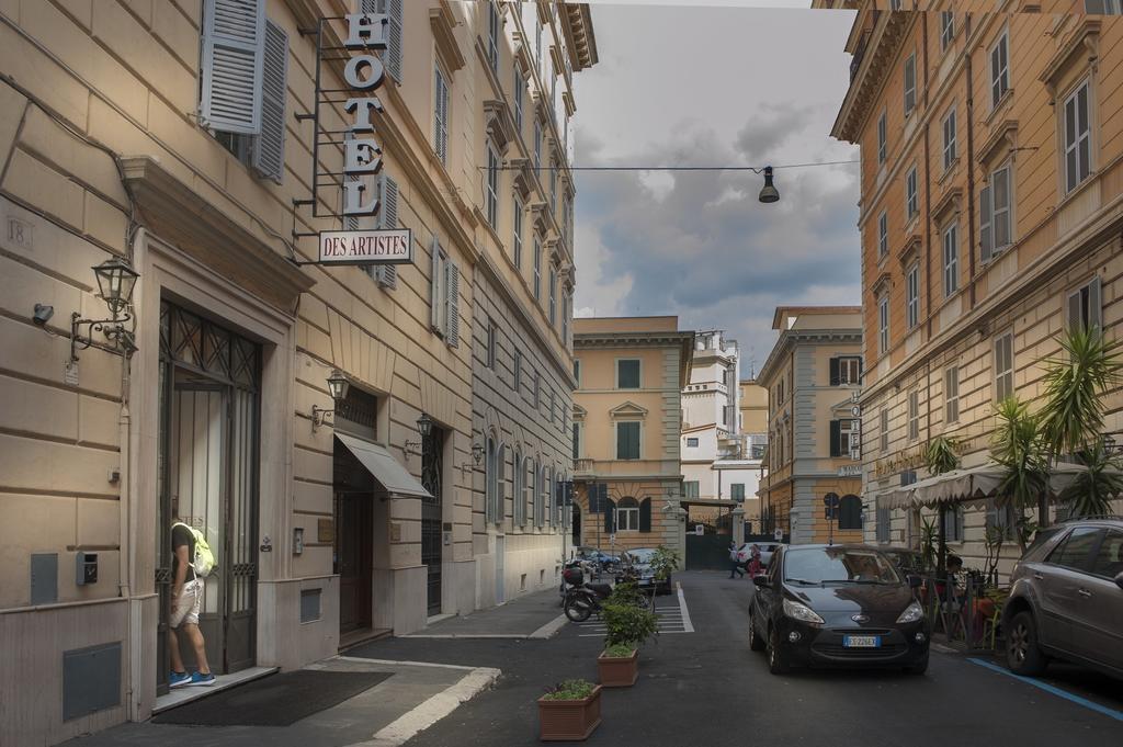 Отель Des Artistes Италия Рим