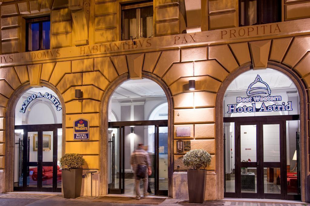 Отель Best Western Hotel Astrid Италия Рим