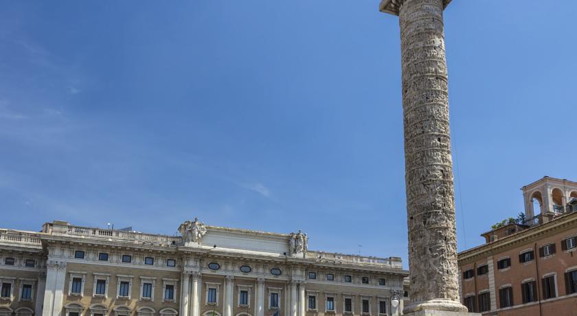 Отель Dei Borgognoni Италия Рим