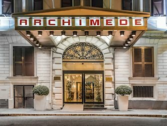 Archimede 4*, Италия, Рим
