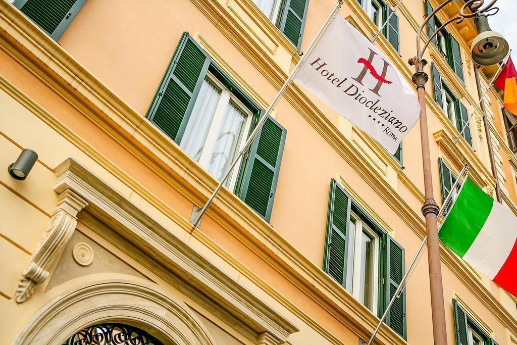 Отель Diocleziano Италия Рим