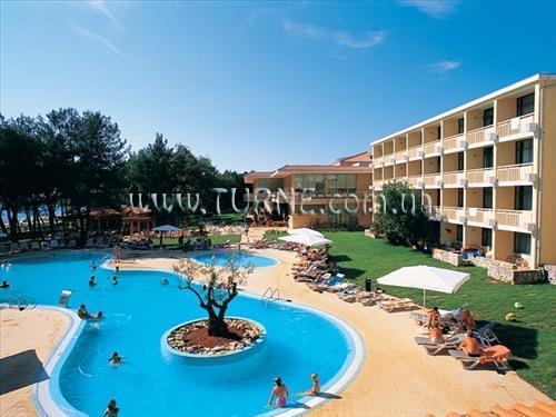 Отель Sol Aurora Хорватия Умаг