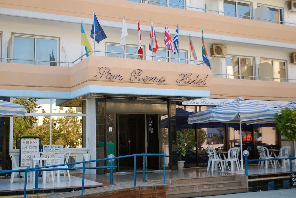 Отель San Remo Hotel Ларнака