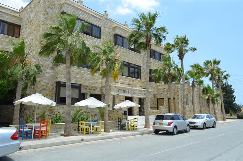 Отель Vergi Hotel Кипр Ларнака
