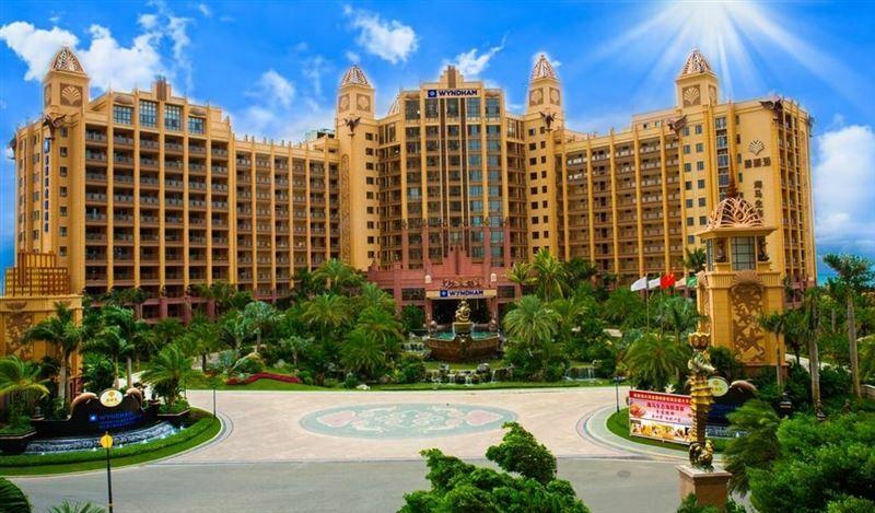 Отель Wyndham Hainan Clearwater Bay Resort Хайнань