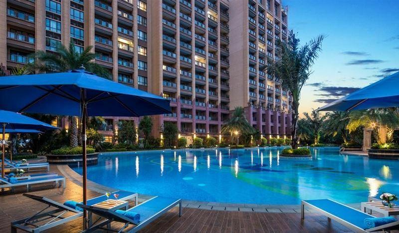 Отель Wyndham Hainan Clearwater Bay Resort Китай Хайнань