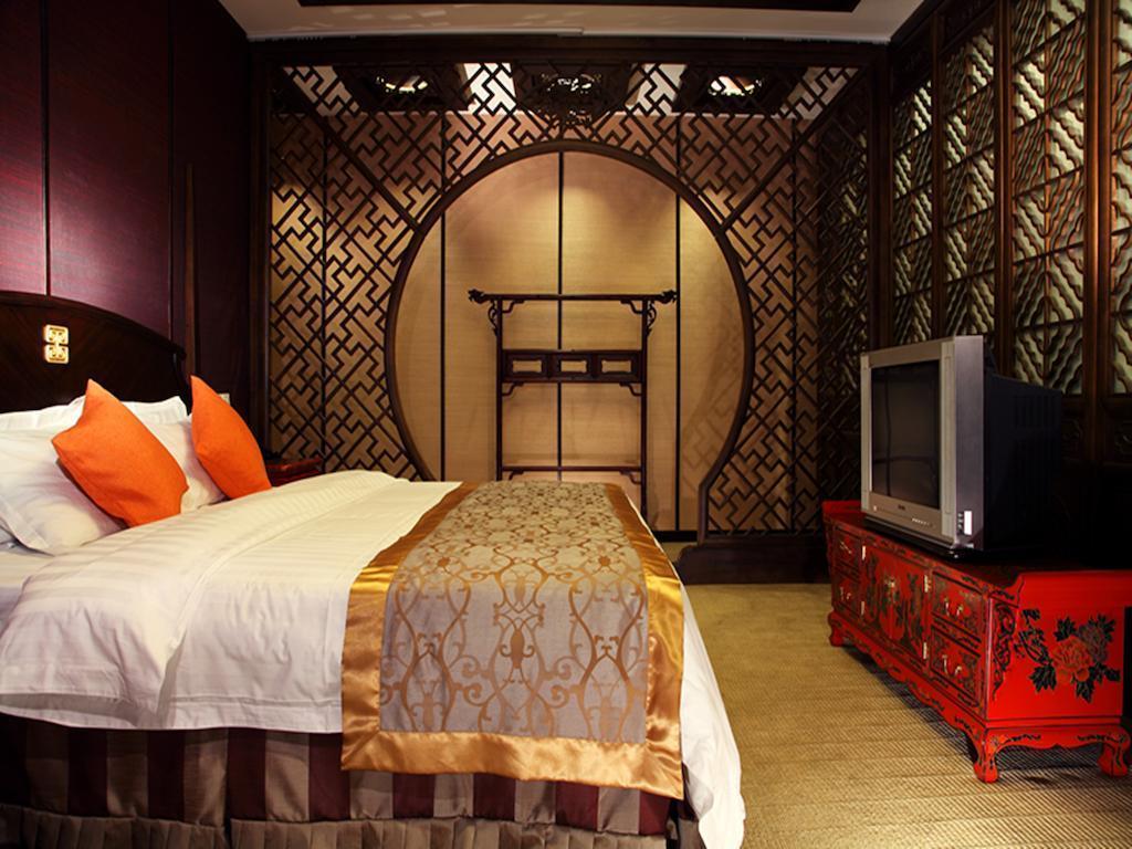 Отель JianGuo Hot Spring Пекин