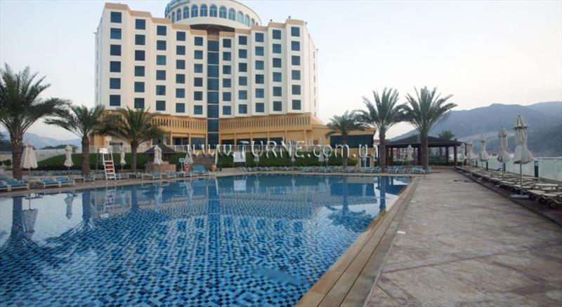 Отель Oceanic Beach Khorfakkan ОАЭ Корфакан