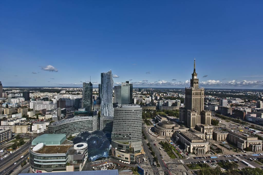 Отель Warsaw Marriott Hotel Варшава