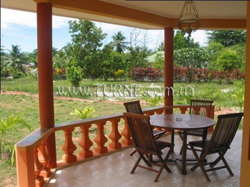 Отель Villas Des Alizes Сейшельские острова о. Праслин