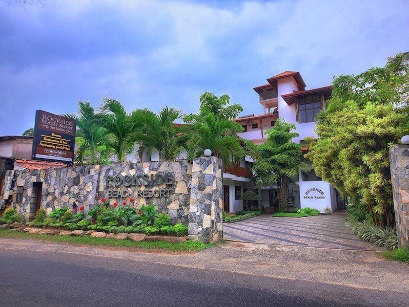 Отель Rock Side Beach Resort Индурува