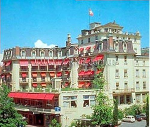 Отель Helvetie Швейцария Монтре