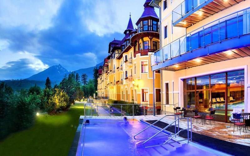 Отель Grand Hotel Praha Словакия Татранска Ломница