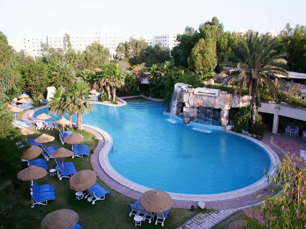 Отель Shell Beach Hotel & Spa Хаммамет