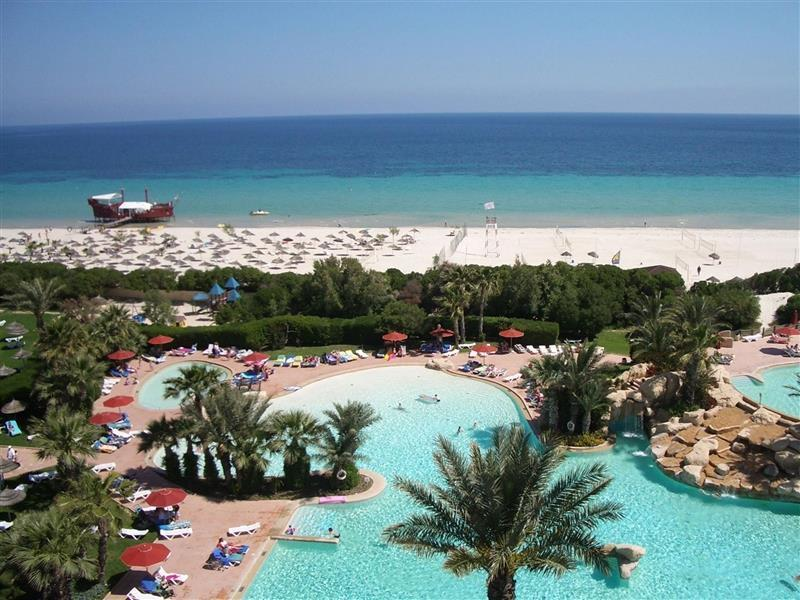 Отель Sahara Beach Тунис Монастир
