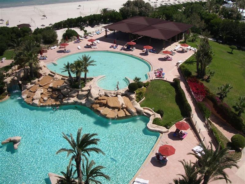 Отель Sahara Beach Монастир