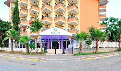Kleopatra Sun Light Hotel 3*, Турция, Аланья