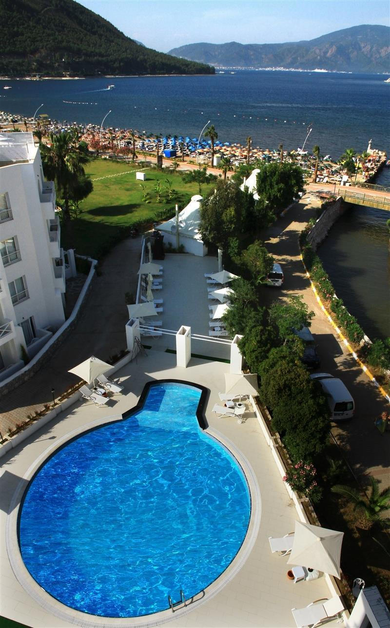 Отель Munamar Beach Residence Мармарис