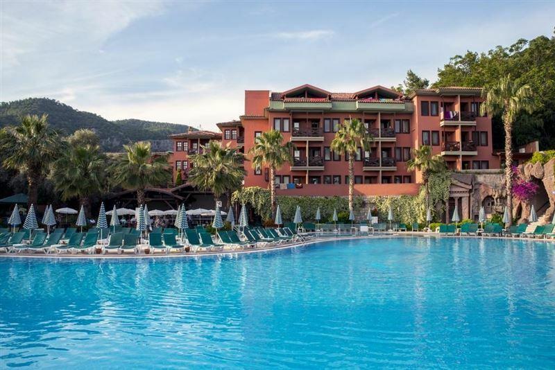 Отель Sun City Hotel Beach Club Турция Олюдениз