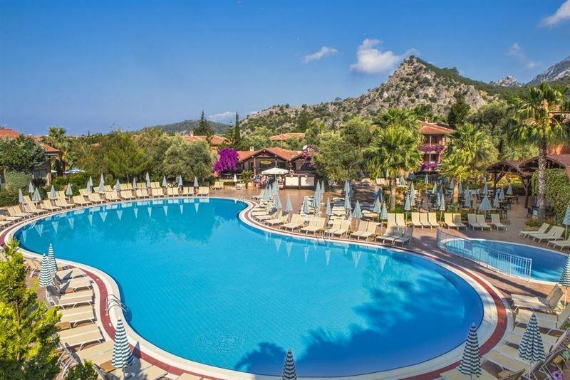 Фото Sun City Hotel Beach Club Олюдениз