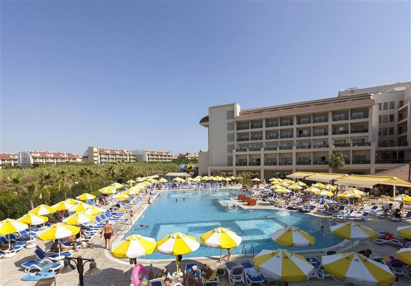 Отель Seher Sun Palace Resort & Spa Hotel Сиде