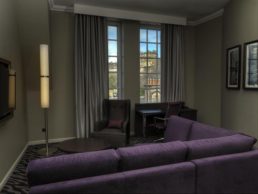 Doubletree By Hilton Hotel Edinburgh City Centre Эдинбург