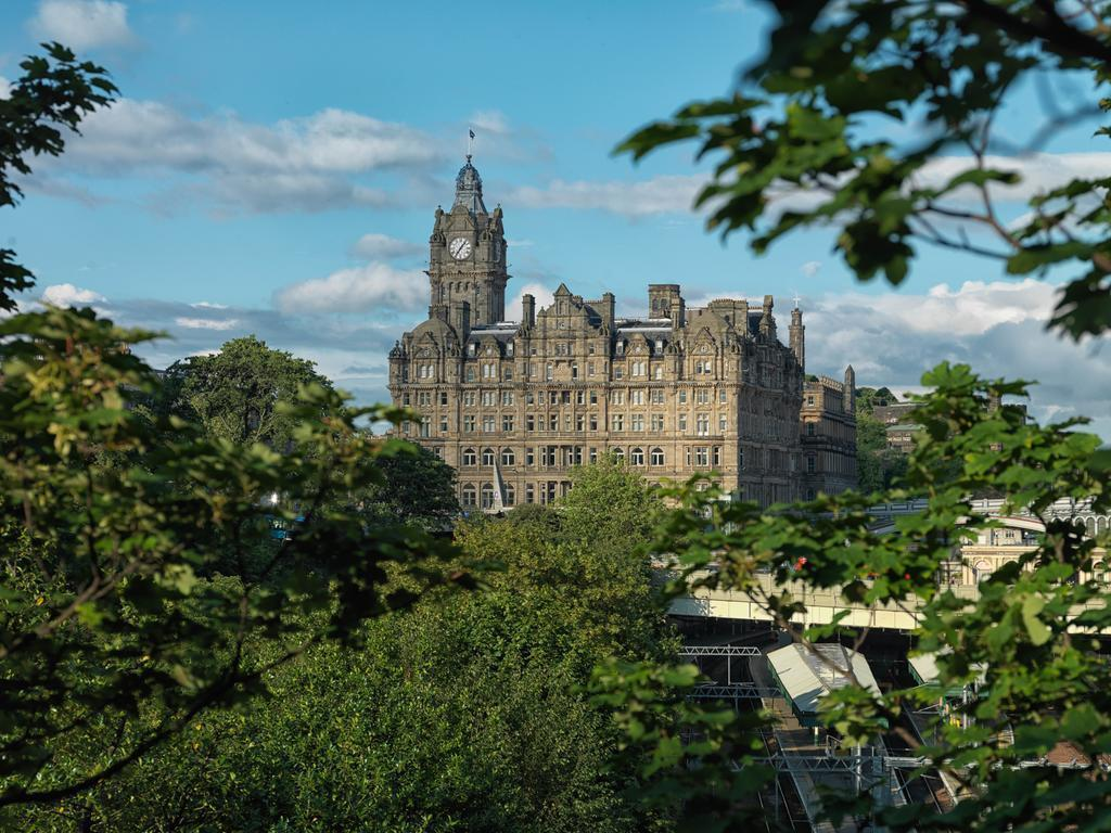 The Balmoral Великобритания Эдинбург