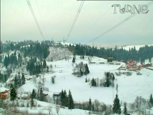 Фоторепортаж: Гора Тростян – трассы для настоящих экстремалов