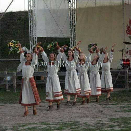 День Независимости в парке  Киевская Русь